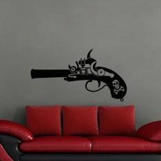 Sticker Pistolet d'un pirate