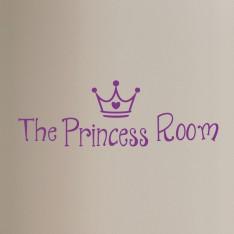 Sticker porte La chambre de princesse