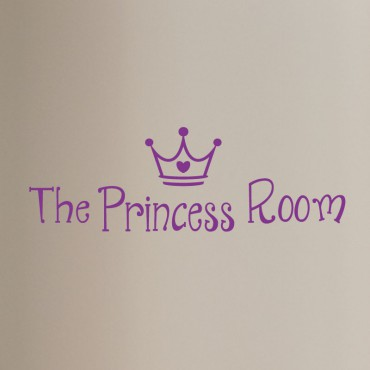 Sticker porte La chambre de princesse - stickers princesse & stickers enfant - fanastick.com