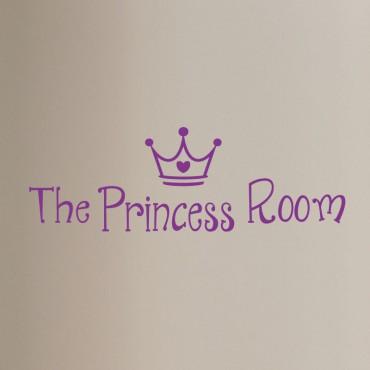 Sticker porte La chambre de princesse - stickers princesse & stickers enfant - fanastick.com