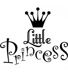 Sticker Little Princess