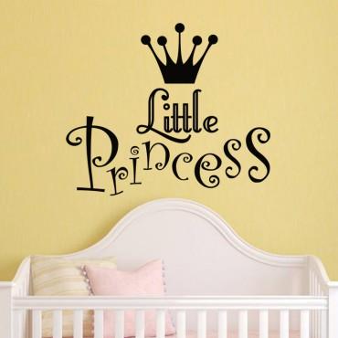 Sticker Little Princess - stickers princesse & stickers enfant - fanastick.com
