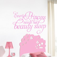 Sticker Every princess need her Beauty sleep