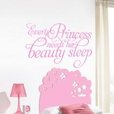 Sticker Every princess need her Beauty sleep