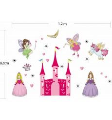 Sticker Château pour Princesses