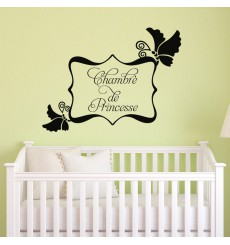 Sticker Chambre de princesse