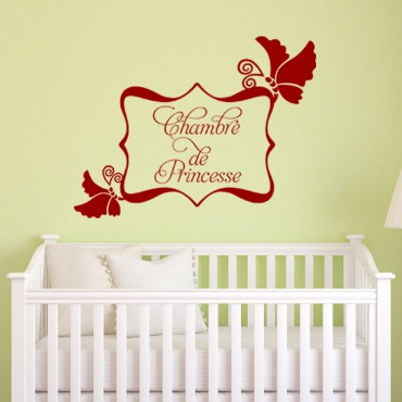 Sticker Chambre de princesse - stickers princesse & stickers enfant - fanastick.com