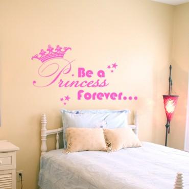 Sticker Princess forever - dola & stickers muraux - fanastick.com