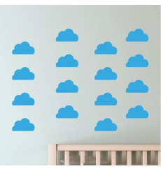 Sticker 30 nuages