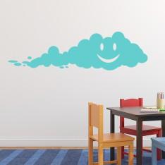 Sticker Nuage heureux
