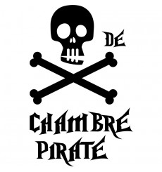 Sticker Chambre pirate
