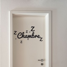 Sticker Chambre ronflements