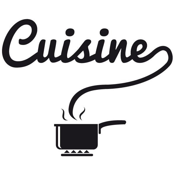 sticker cuisine stickers porte stickers deco. Black Bedroom Furniture Sets. Home Design Ideas