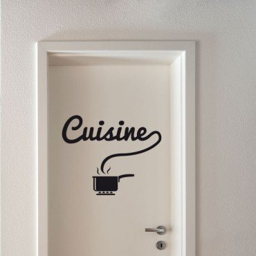 Sticker Cuisine - stickers porte & stickers deco - fanastick.com