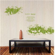 Sticker Love's secret - Vert
