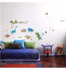 Sticker Petits dinosaures colorés