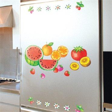 Sticker Fruits et légumes - stickers cuisine & stickers muraux - fanastick.com