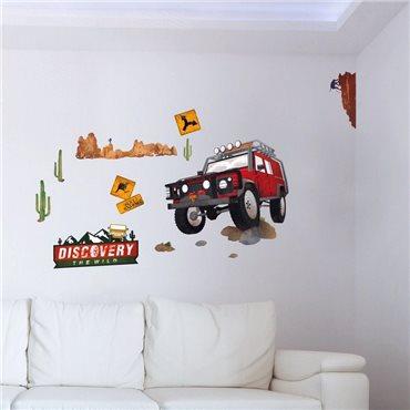 Sticker road trip en Australie - stickers voiture & stickers voiture - fanastick.com