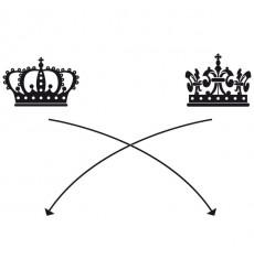 Sticker Roi et reine