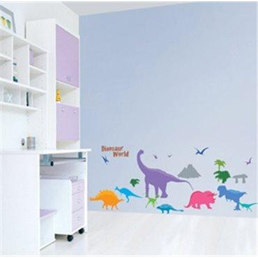 Sticker dinosaures - stickers animaux enfant & stickers enfant - fanastick.com