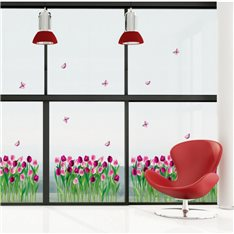 Sticker Fleurs tulipes de rêve