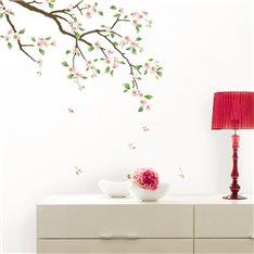 Sticker Cerisier en fleurs