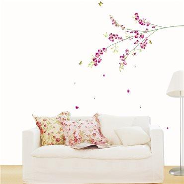 Sticker Fleurs orchidées - stickers fleurs & stickers muraux - fanastick.com
