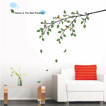 Sticker arbre et oiseau - stickers arbre & stickers muraux - fanastick.com