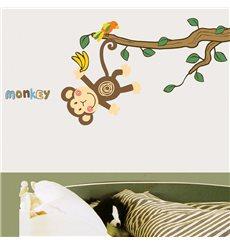 Sticker Singe & arbre