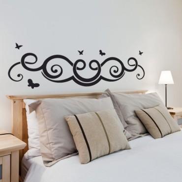 Sticker Tête de lit féerique - stickers tête de lit & stickers muraux - fanastick.com