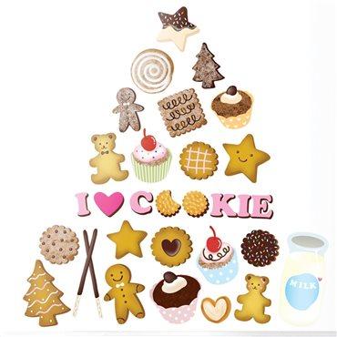 Sticker cookies - stickers cuisine & stickers muraux - fanastick.com