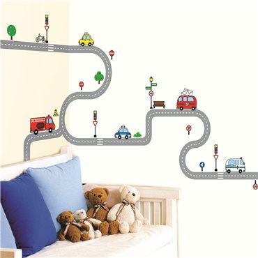 Sticker petites voitures - stickers chambre enfant & stickers enfant - fanastick.com