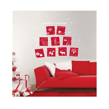 Sticker décorations de Noël - stickers noël & stickers muraux - fanastick.com