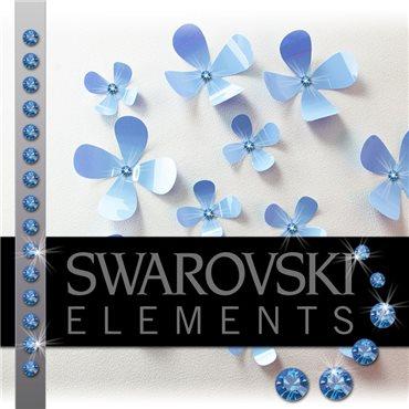 Sticker 15 Cristaux adhésifs 3mm SWAROVSKI® ELEMENTS - saphir - stickers swarovski® elements & stickers muraux - fanastick.com
