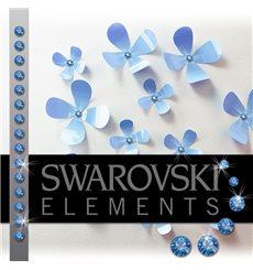 Sticker 15 Cristaux adhésifs 3mm SWAROVSKI® ELEMENTS - saphir