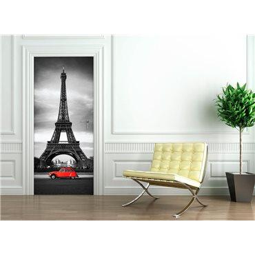 Sticker porte 204 x 83 cm - Tour Eiffel - stickers porte & stickers deco - fanastick.com