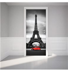 Sticker porte 204 x 83 cm - Tour Eiffel