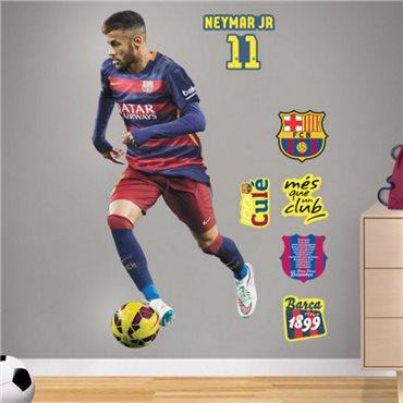 Sticker FC Barcelone - Neymar 120cm® - stickers foot & stickers muraux - fanastick.com
