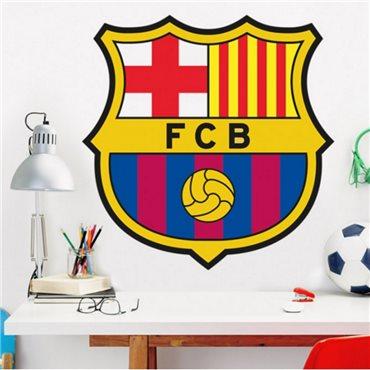 Sticker écusson du  FC Barcelone® - stickers foot & stickers muraux - fanastick.com