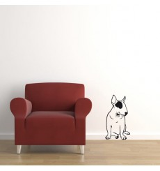 Sticker Bull terrier