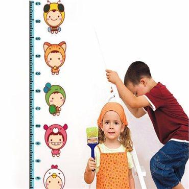 Sticker toise Enfants pour les Tout Petits - stickers toise & stickers enfant - fanastick.com