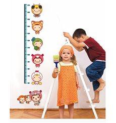 Sticker toise Enfants pour les Tout Petits