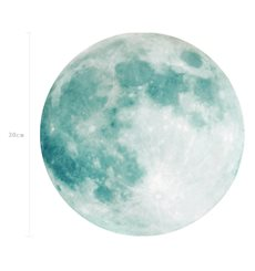 Sticker Lune phosphorescente 30cm