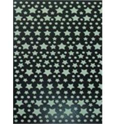 Sticker voie Lactée Phosphorescente - 240 étoiles et planètes