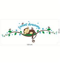 Sticker singe Dormeur