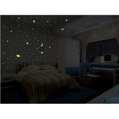 Sticker Univers - 300 étoiles et planètes phosphorescentes