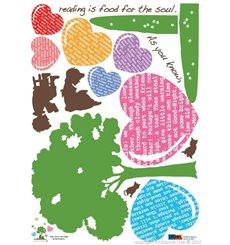 Sticker Arbre et coeur