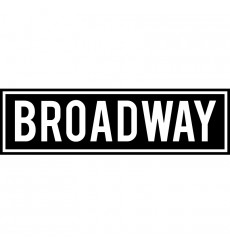 Sticker  Broadway