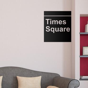 Sticker Times Square - stickers new york & stickers muraux - fanastick.com