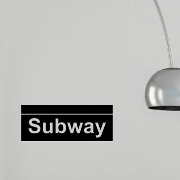 Sticker Subway - stickers new york & stickers muraux - fanastick.com